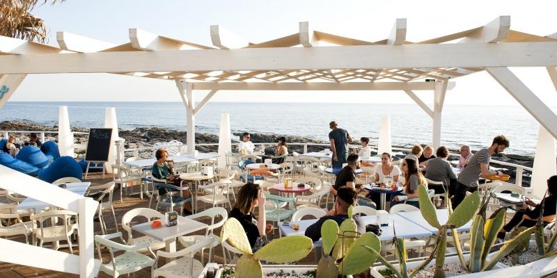 Sunset Cafè: bevute fronte mare