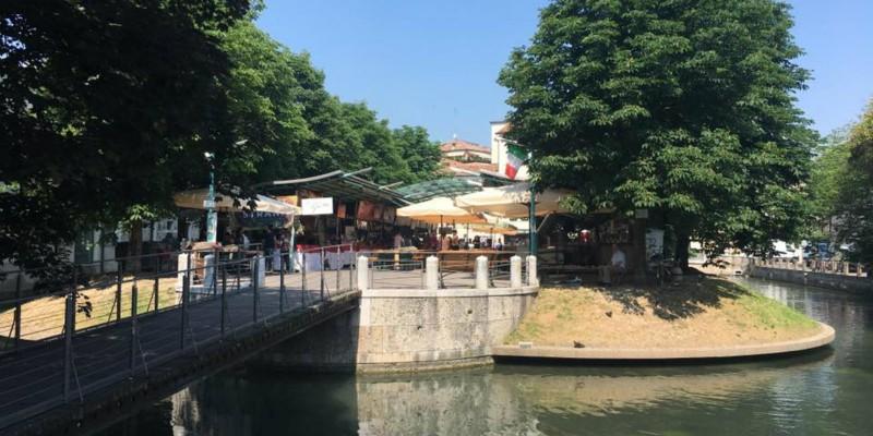 Torna l'Isola del Gusto a Treviso