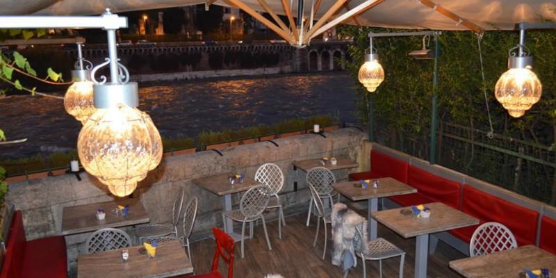 Mangiare e bere nei locali lungo l'Adige