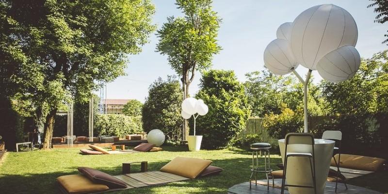 5 locali dentro un giardino a Milano