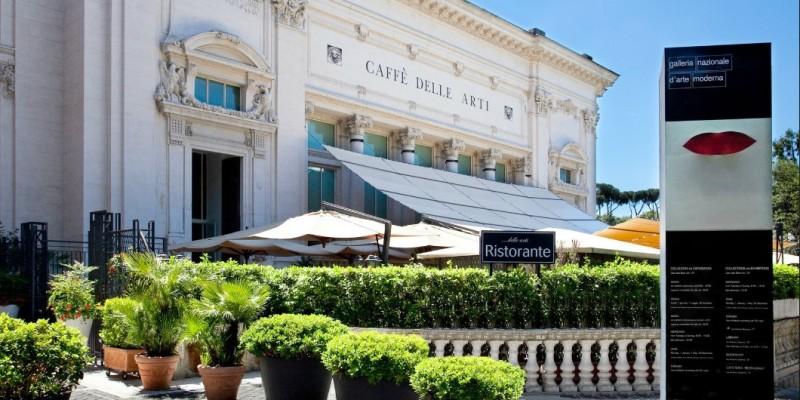 Le più belle caffetterie dei musei di Roma