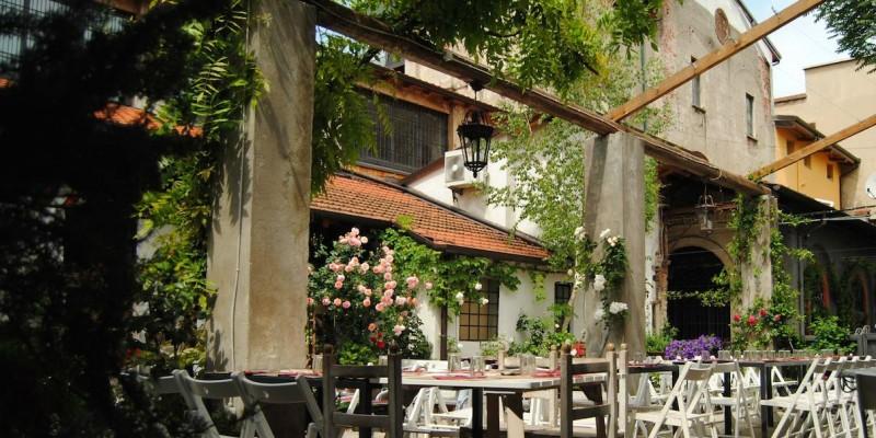 25 locali dove mangiare all'aperto a Milano