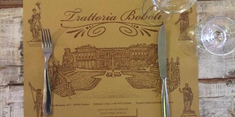 Trattoria Boboli: la vera cucina toscana nel quartiere di San Frediano