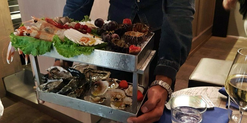 Luca Scarpa dalla Bissa al Voy: tanta passione e competenza per il pesce crudo