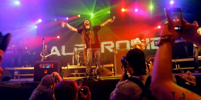 Il re del Reggae italiano Alborosie allo Sherwood