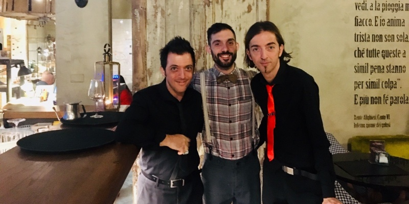 Inferno ristorante&lounge bar Firenze, intervista con Simone Secci nel girone del Buongusto
