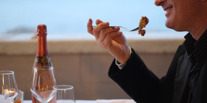 Il menù di San Valentino di Brezza Marina