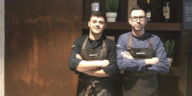 Fabio e Sergiu rivelano La Masseria: il ristorante dove si mangia anche con gli occhi