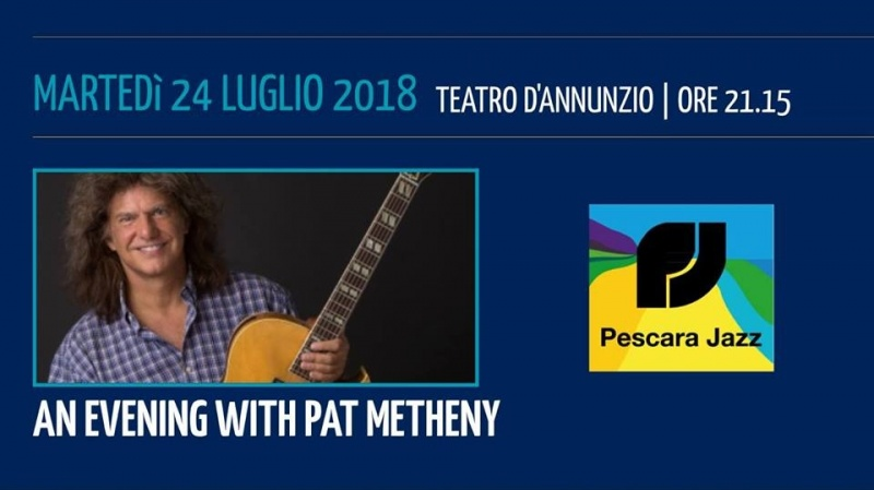 pat metheny pescara