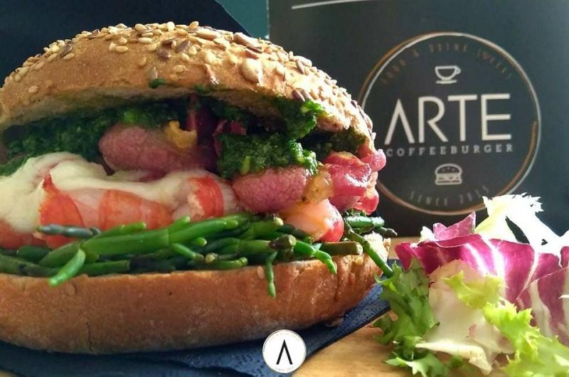 hamburger arte bisceglie
