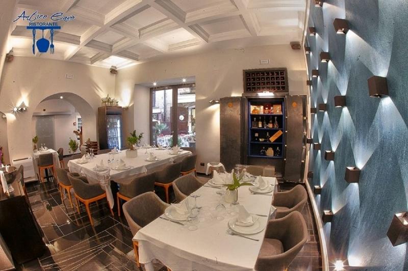 ristorante pesce bari antico cavò degustazione vini