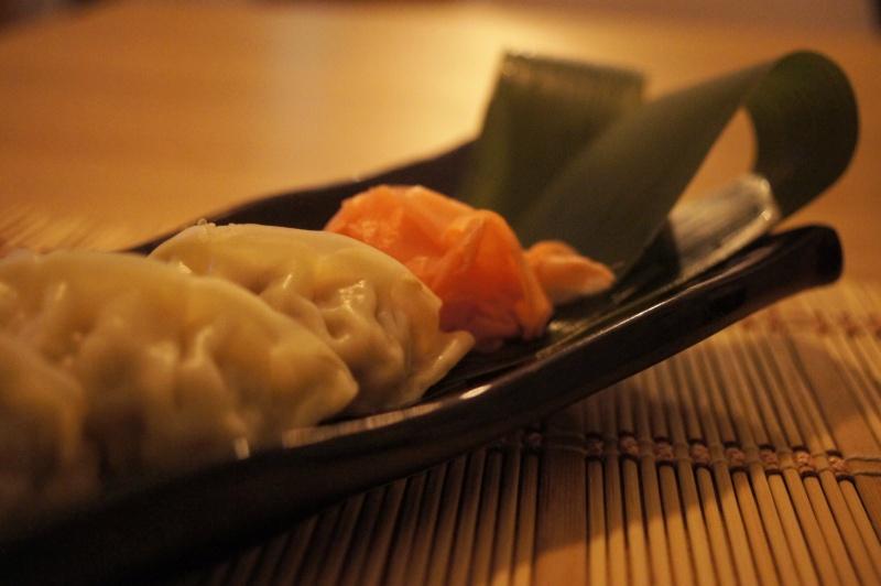 gyoza, wasabi, wasabi gyoza