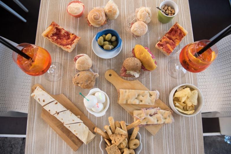redattori licheri aperitivo bamboo tavolo