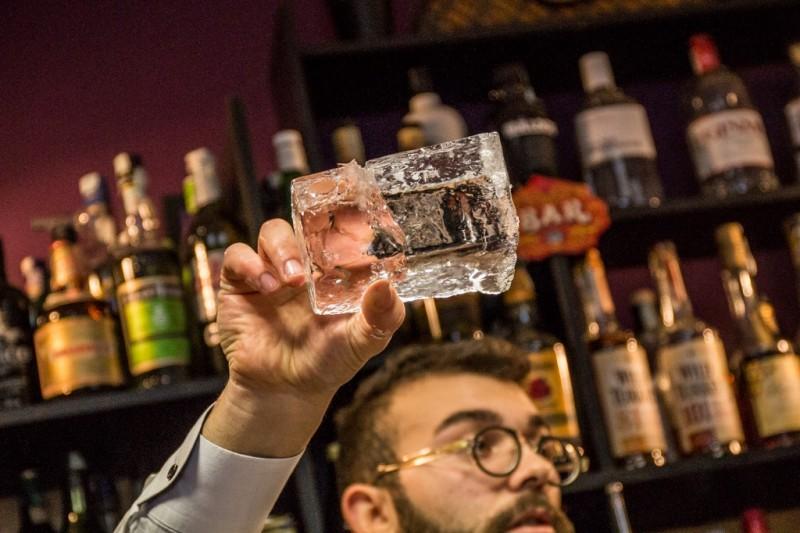 redattori licheri puro ghiaccio bicchiere di ghiaccio