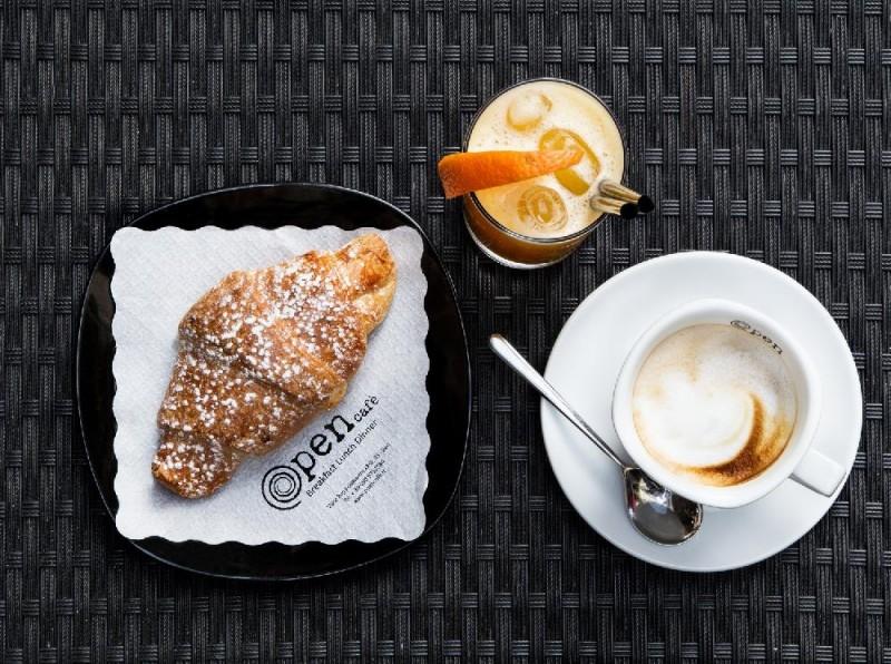 open cafè colazione caffè