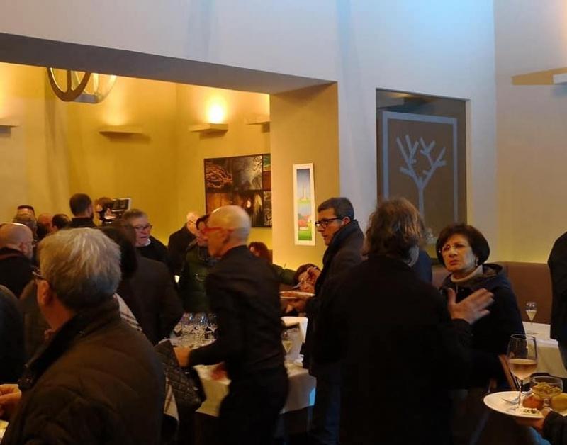redattori licheri alex ristorante inaugurazione nuova sede