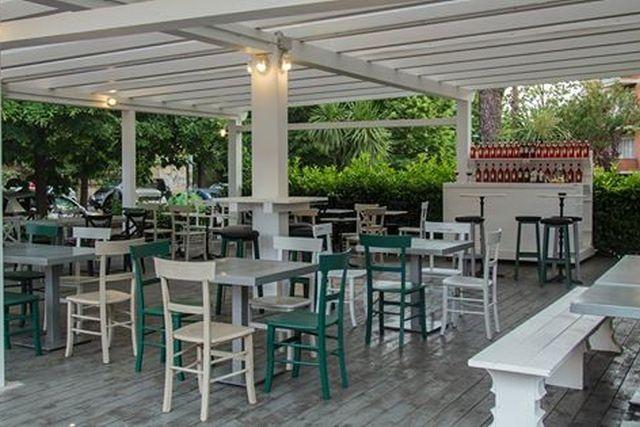 ristorante con giardino roma the tower