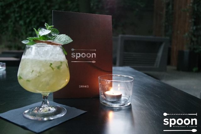 spoon cocktail