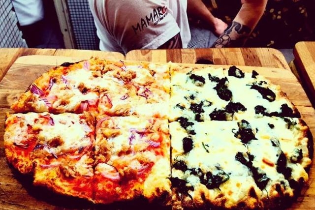 giro pizza a roma mamarò