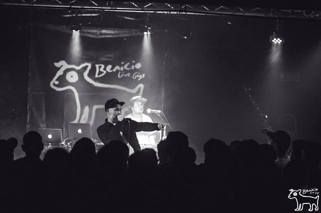 benicio live gigs