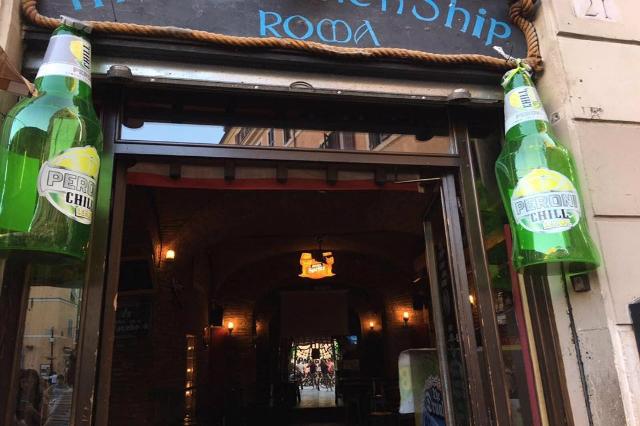 drunken ship roma pub americano francesco tuzio intervista team birra eventi campo de' fiori