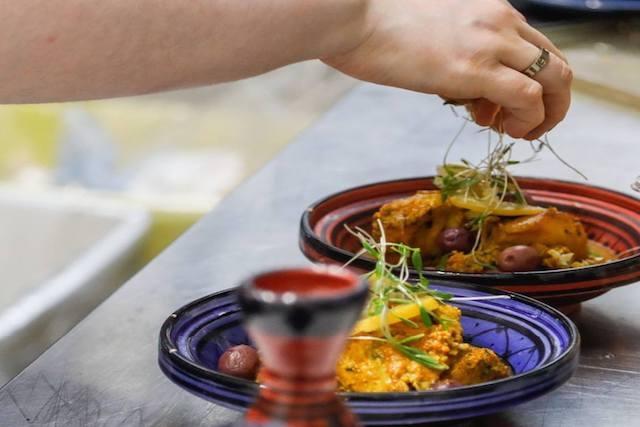 riad majorelle piatto marocco foto fb