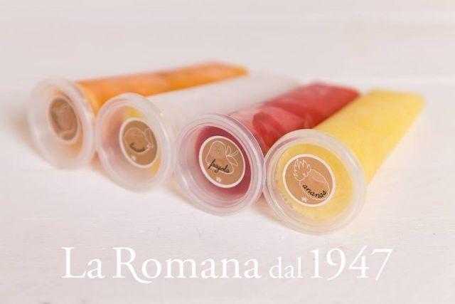 ghiaccioli artigianali roma gelateria la romana