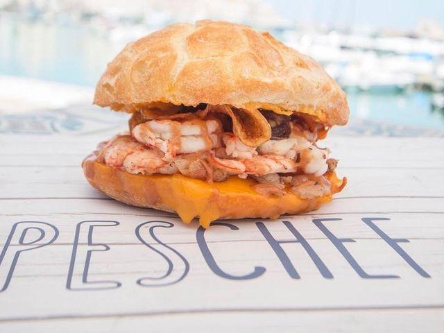 peschef trani fish burger puglia