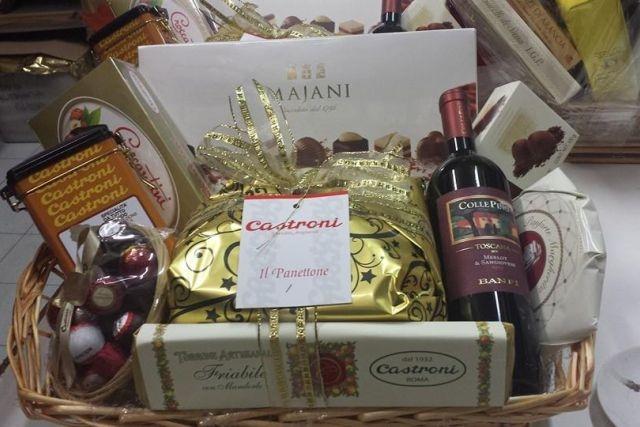 Molto Cesti di Natale da regalare: ecco i più buoni a Roma PY14