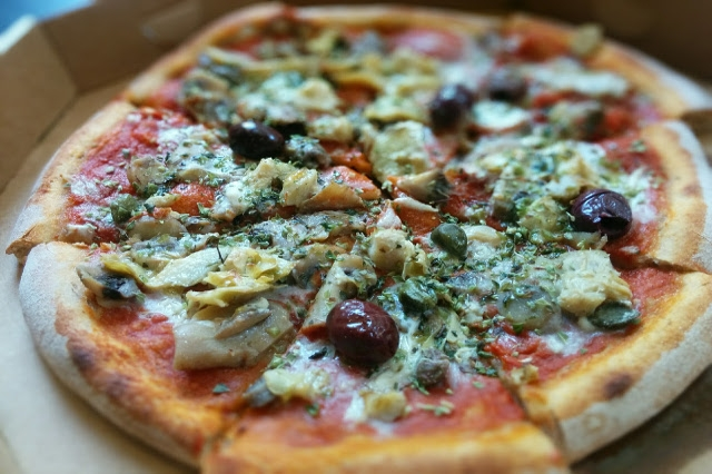 pizza capricciosa bio vegana venezia