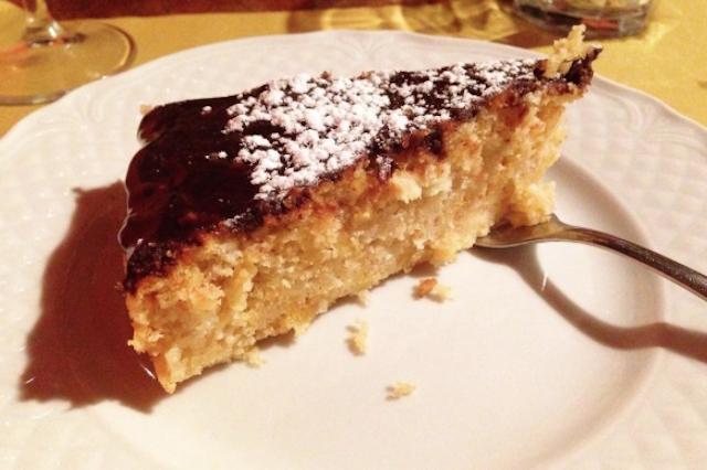 torta ricotta e pera osteria dei poeti milano