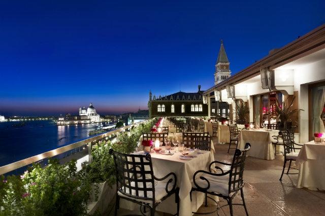 ristoranti venezia con vista più bella terrazza danieli