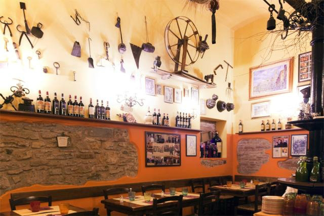 trattorie osterie centro firenze