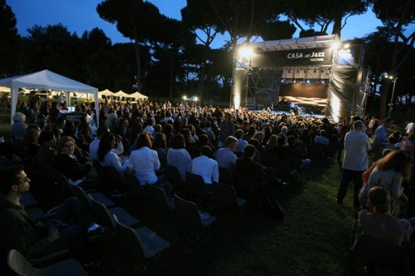 casa del jazz summertime festival jazz roma agosto giardino concerti musica agosto estate romana agosto romano