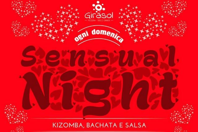 sensual night locandina