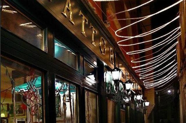 mario alla fava i ristoranti nelle piccole calli a venezia