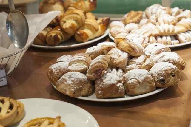 milano colazione brera cappuccino brioche croissant caffè botega caffè cacao