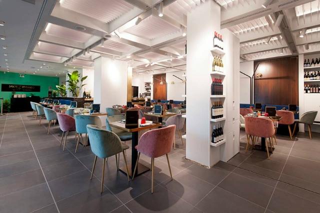 madeiterraneo riccardo di giacinto chef stellato rinascente roma food hall nuova apertura ristorante terrazzo attico