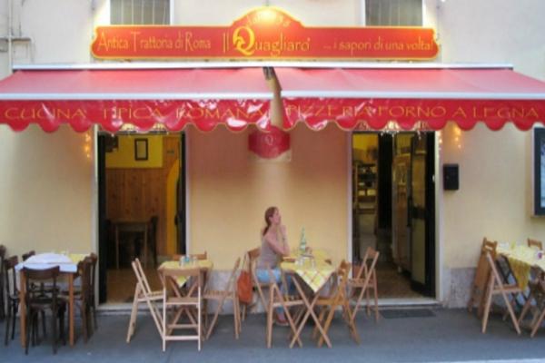 osteria il quagliaro quarticciolo gricia cucina romana guanciale classifica migliori 10 gricie di roma