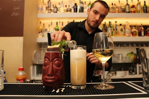 giulio albertelli barman patron stazione 38 bistrot cocktail bar roma piazzale della radio intervista foto 1