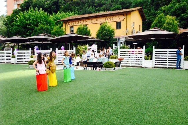 ristorante con giardino roma meloncini