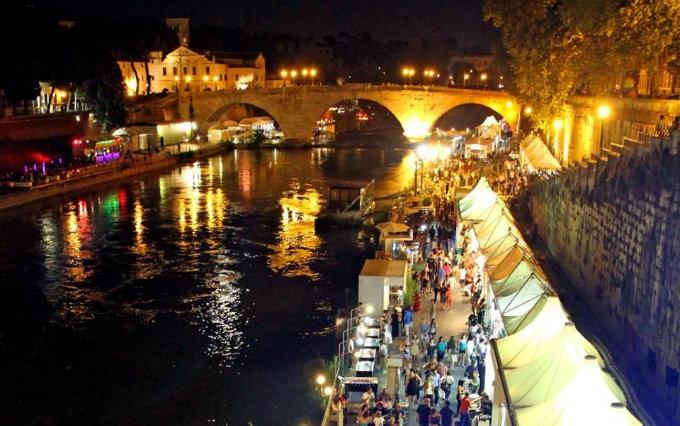 lungo il tevere rassegna musica food mercatino centro storico roma estate romana eventi estate 2017