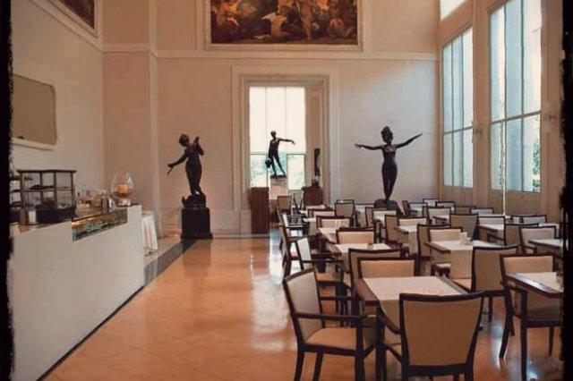 caffetterie dei musei a roma, caffè delle arti, galleria nazionale d'arte moderna