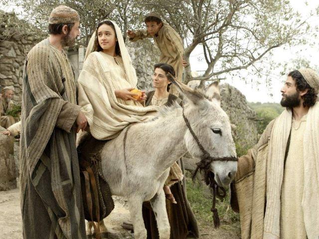 film nativity matera fuga in egitto madonna san giuseppe