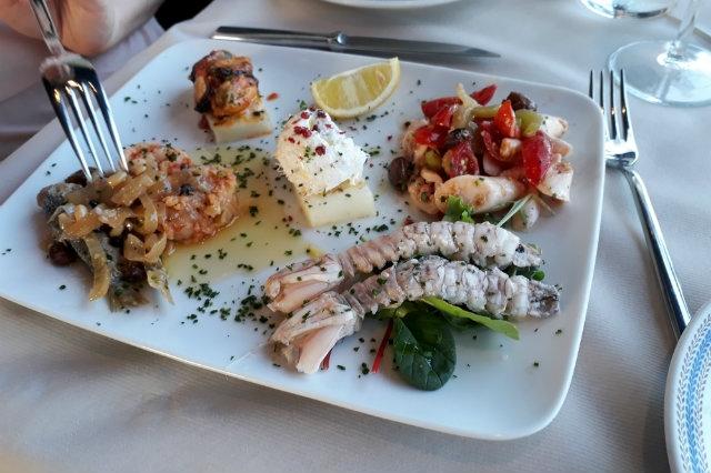 ristoranet pesce fronte mare veneto