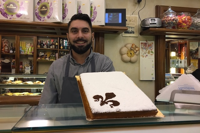 credits raffaella galamini schiacciata alla fiorentina firenze pasticceria nencioni