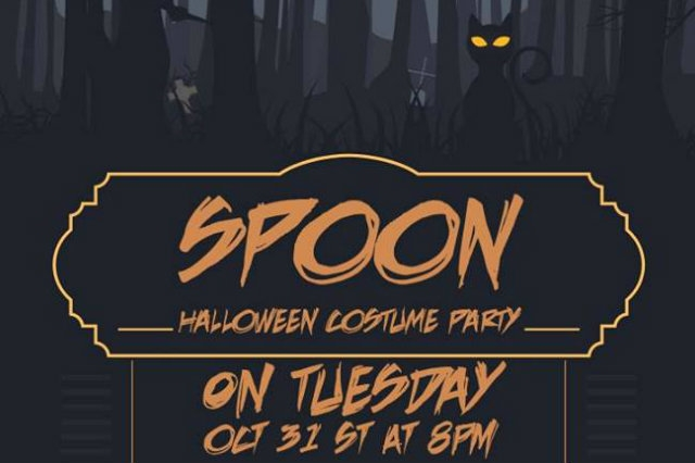 spoon halloween milano