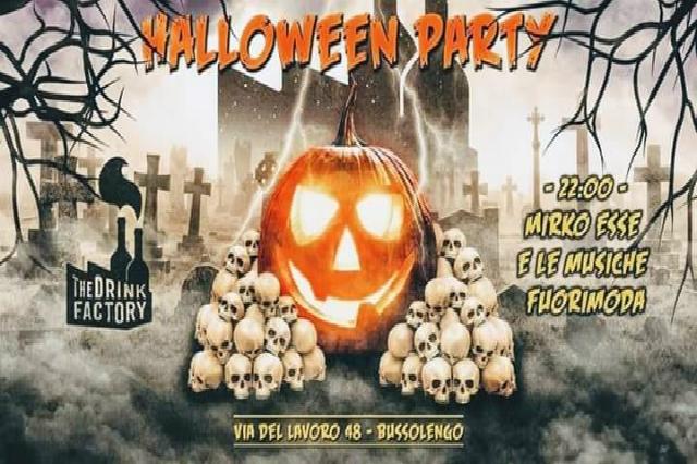 halloween party al drink factory