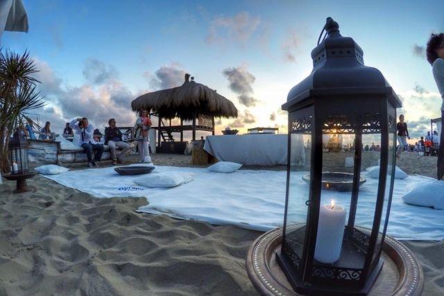 colazione sulla spiaggia vicino roma singita fregene