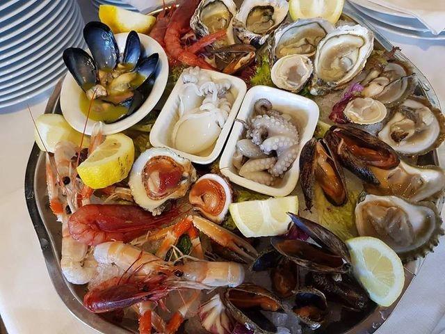 brezza marina bisceglie puglia frutti di mare